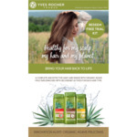 Free Haircare Trial Kit from Yves Rocher (Collect In-Store)