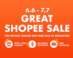 $3 off ($30 Min Spend), $8 off ($80 Min Spend), $30 off ($300 Min Spend) Sports & Hobbies Categories at Shopee