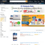 $8 off ($65 Minimum Spend) on Kimberley-Clark Products at Amazon SG