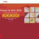 Win 1 of 50 $20 eatigo Cash Vouchers from eatigo