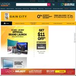 $11 off Storewide at Gain City via Lazada (Minimum $60 Spend)