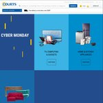 Courts Cyber Monday Offer - 15% off Storewide + Free Delivery