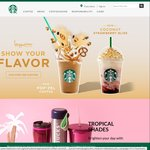 1 for 1 Offer on Limited Edition Frappuccino Drinks at Starbucks (19th to 21st April) for Starbucks Cardholders