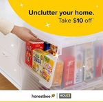 $10 off ($50 Minimum Spend) at HOUZE via honestbee