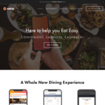 50% Cashback ($2 Cap) from Any Restaurant on Eatsy [Singtel Dash]