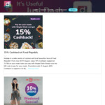 15% Cashback at Food Republic with Singtel Dash