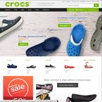 20% off All Orders for New Customers with Newsletter Subscription at Crocs