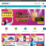 $16 off ($80 Min Spend) Sitewide at Watsons