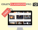 FREE Access Cole's Classroom Pro for Photographers beginners or Pro