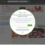 5% Off Dining Deals, 10% Off All Other Deals at Groupon