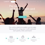 $20 Referral Credit on CardUp for Card up Fee for Credit Card Payment of Bills Not Accepting Credit Cards