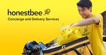$18 off ($25 Minimum Spend) at honestbee Food