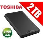 Toshiba Canvio Basics 2TB USB 3.0 Portable Hard Drive for $103 ($100 via App) Delivered from Smart Shopping at Lazada