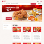 10% off Online Self-Collect Orders at KFC ($40 Minimum Spend)