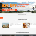 $20 off Min Spend of $200 All Melbourne Activities on Klook
