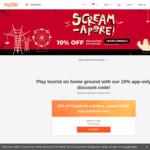 10% off Singapore Activities at Klook (via App)