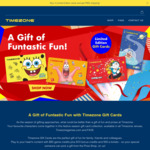 Pay $50 for a Gift Card with $60 Credits & 500 E-Tickets at Timezone