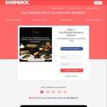 Extra $15 Cashback via ShopBack on Orders through PAUL on foodpanda/Deliveroo