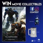 Win 1 of 3 Transformers: The Last Knight Sqweeks Keychains and Drinkware from Cathay Cineplexes