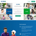 5% off ($100+), Free Delivery at Fairprice, Free Plus Membership (U.P. $10), Grab Discounts + More for $18/yr (U.P. $30) @ SCORE