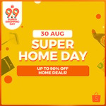 10% off Home, Living & Pets or 12% off Home Appliances at Shopee