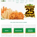 1 for 1 Mega Fries at Potato Corner via Eatsy App