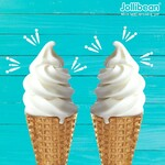 2x Ice Cream Cones for $3 (U.P. $3.60) at Jollibean via Shopee