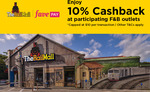 10% Cashback at Participating F&B Stores at The Rail Mall with FavePay Payments