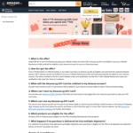 Bonus $15 (Citibank Visa) or $20 Gift Card (Citibank Mastercard) When You Spend $150 at Amazon SG
