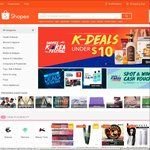 $10 off Sitewide at Shopee ($20 Minimum Spend) [New Customers]