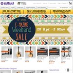 Yamaha E-Shop Weekend Sale Speakers from $89, 20-35% off Selected Musical Instruments
