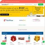 $8 off at honestbee Food ($12 Minimum Spend) [Citibank Cards]