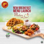 Mothers Eat Free with Every 3 Breakfast Mains Ordered at The Manhattan Fish Market (Saturday 13th to Sunday 14th May)