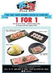 1-for-1 Weekday Lunch Promotion at Steam Box (15 June - 14 July)