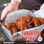 50% off Spicy Yangnyum Up at Chicken Up