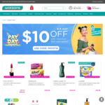 $10 off $60 Online Spend @ Watsons
