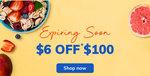 $6 off ($100 Min Spend) at FairPrice ON