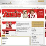 30% off Annie Musical Tickets at Marina Bay Sands