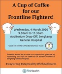 Free Coffee for Healthcare Workers@SKH (Coffee Bandits Food Truck) 4/3/20 (9:30am to 11:30am)