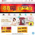$58 off ($700 Min Spend), $88 off ($1100 Min Spend) or $108 off ($1600 Min Spend) Sitewide at BEST Denki