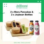 2x Maru Pancakes & 2x Joybean Bottles for $3.70 (U.P. $8.60) at Jollibean via Lazada