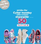 $50 for Any Pair of Shoes at Stride Rite (U.P. Up to $99)