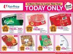 NTUC FairPrice Sunday Specials - Coca-Cola 12x 330mL $3.95/Pack, Milo 4x6x200mL $9.75/Carton + More