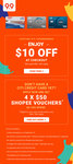$10 off ($80 Minimum Spend) at Shopee [Citibank Cards]