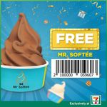 Free Mr Softee with Any Purchase at 7-Eleven