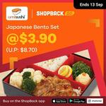 $3.90 Umisushi Bento Set (UP $8.70) via Shopback GO