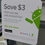 $3 off When You Spend Over $20 and Pay with Android Pay at Any FairPrice Store (Redeemable Once Per Day)