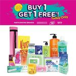 Buy 1 Get 1 Free on Watsons Brand, Orit and Pure'n Soft at Watsons (Plus Freebies with Min. Purchase)