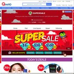 Qoo10 Coupons - $5 off When You Spend $30, $20 off When You Spend $100, $100 off When You Spend $600
