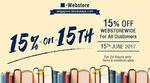 15% Off Storewide at Kinokuniya Webstore